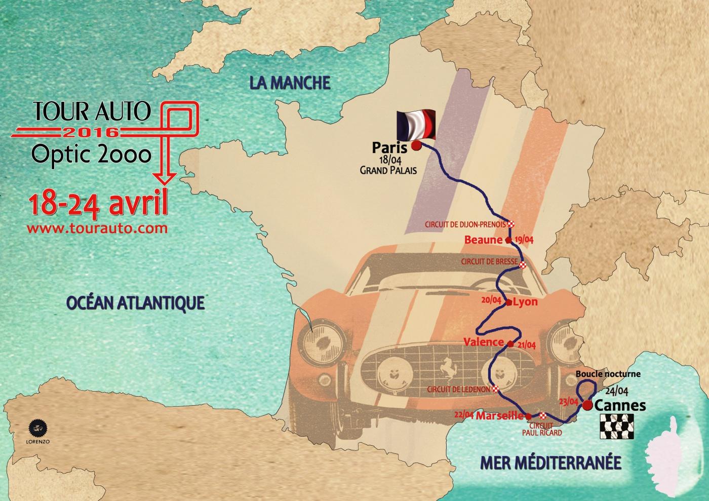 Plan Tour Auto