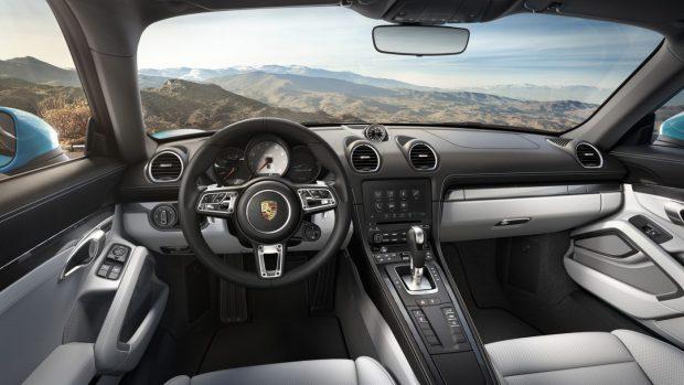 Porsche 718 Cayman Intérieur