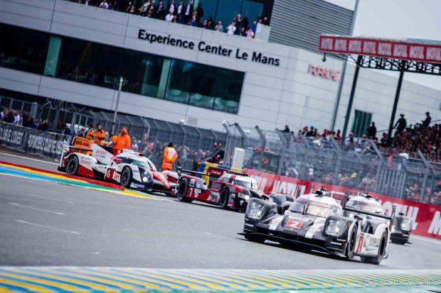 Départ - Mans 2016