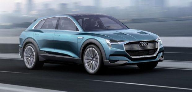 Audi présentera son SUV électrique en 2018, inspiré du concept e-tron Quattro.
