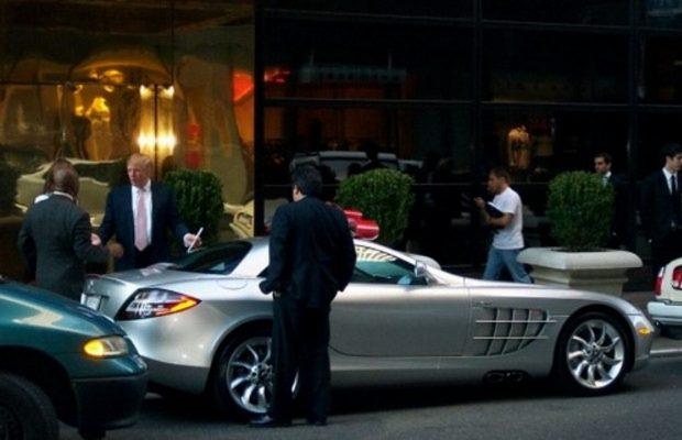 Que serait la semaine sans l'élection du nouveau Président Américain. Donald Trump, milliardaire, est connu pour son penchant envers l'automobile. Il possèderait, entre autre, une Mercedes SLR McLaren : pas très américain tout ça !