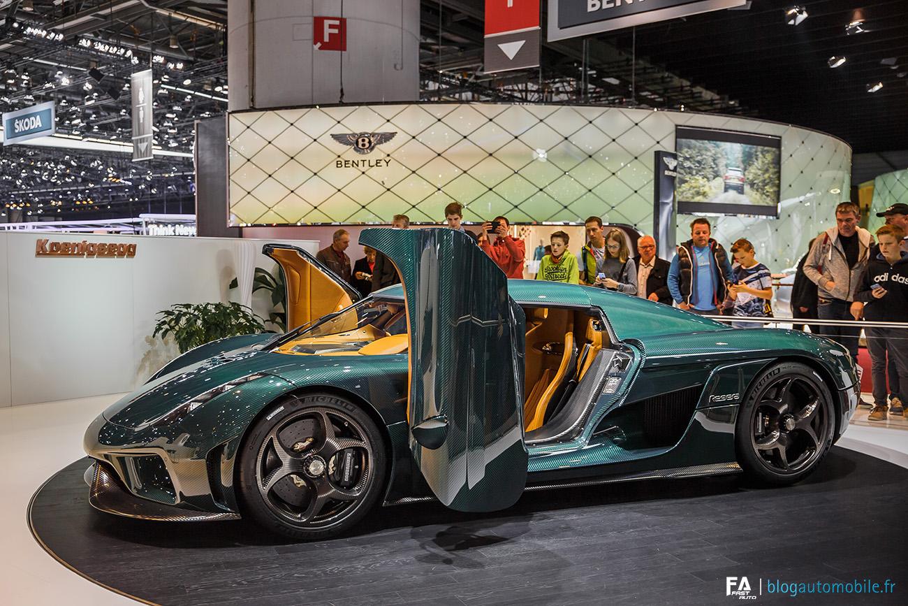 Salon de Genève 2017 (GIMS) - Koenigsegg Regera