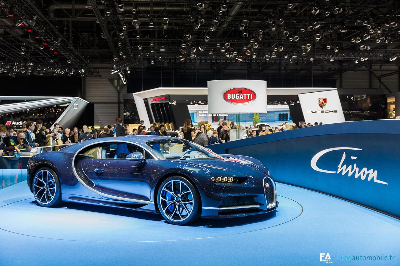 Salon de Genève 2017 (GIMS) - Bugatti Chiron