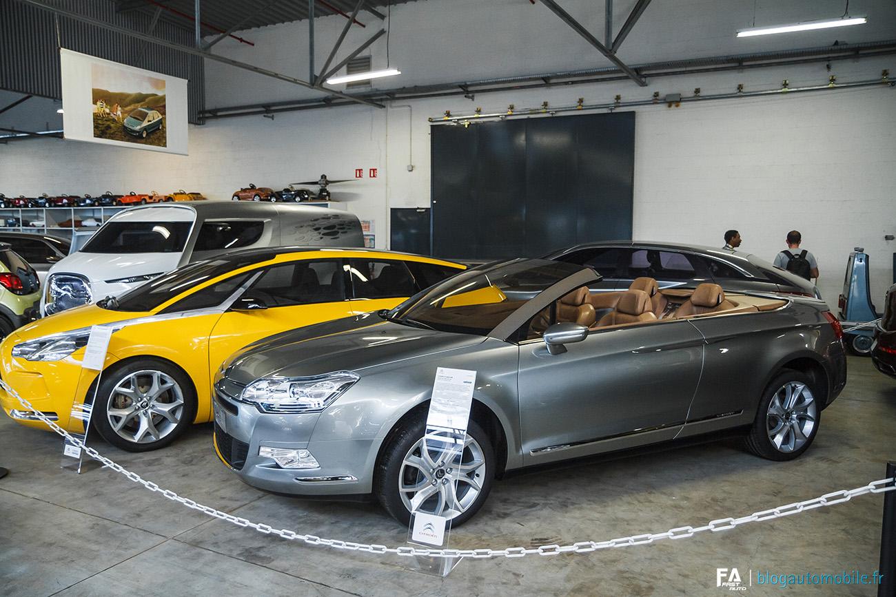 Visite du Conservatoire (Musée) Citroën - Photos