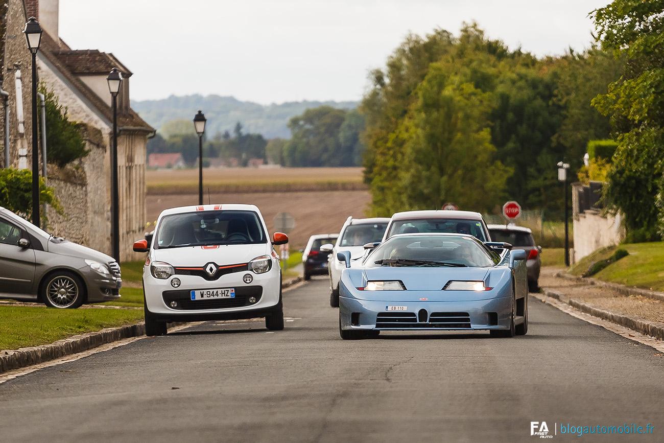 Twingo - GT EDC - Bugatti EB110 - Photo