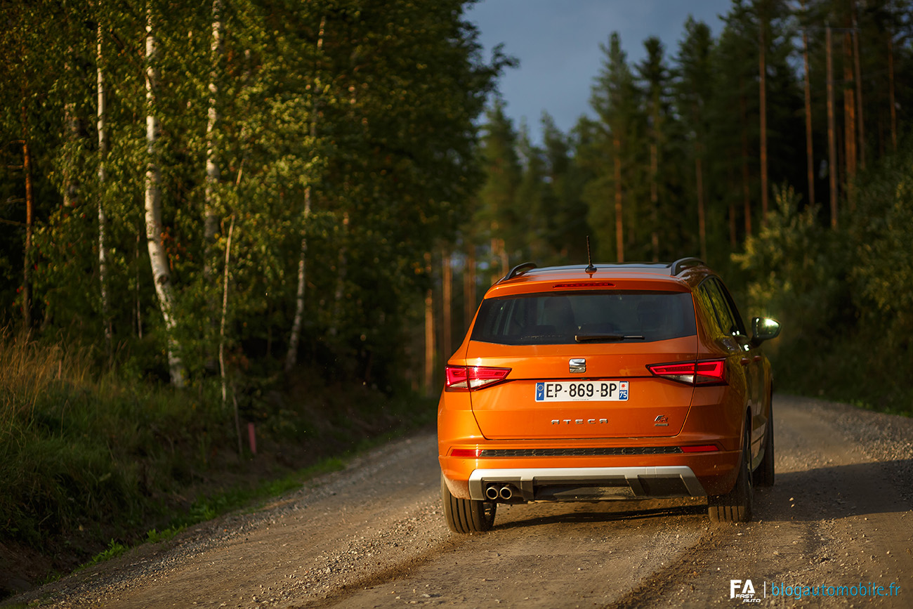 Essai Seat Ateca (FR 190) - Road trip Finlande