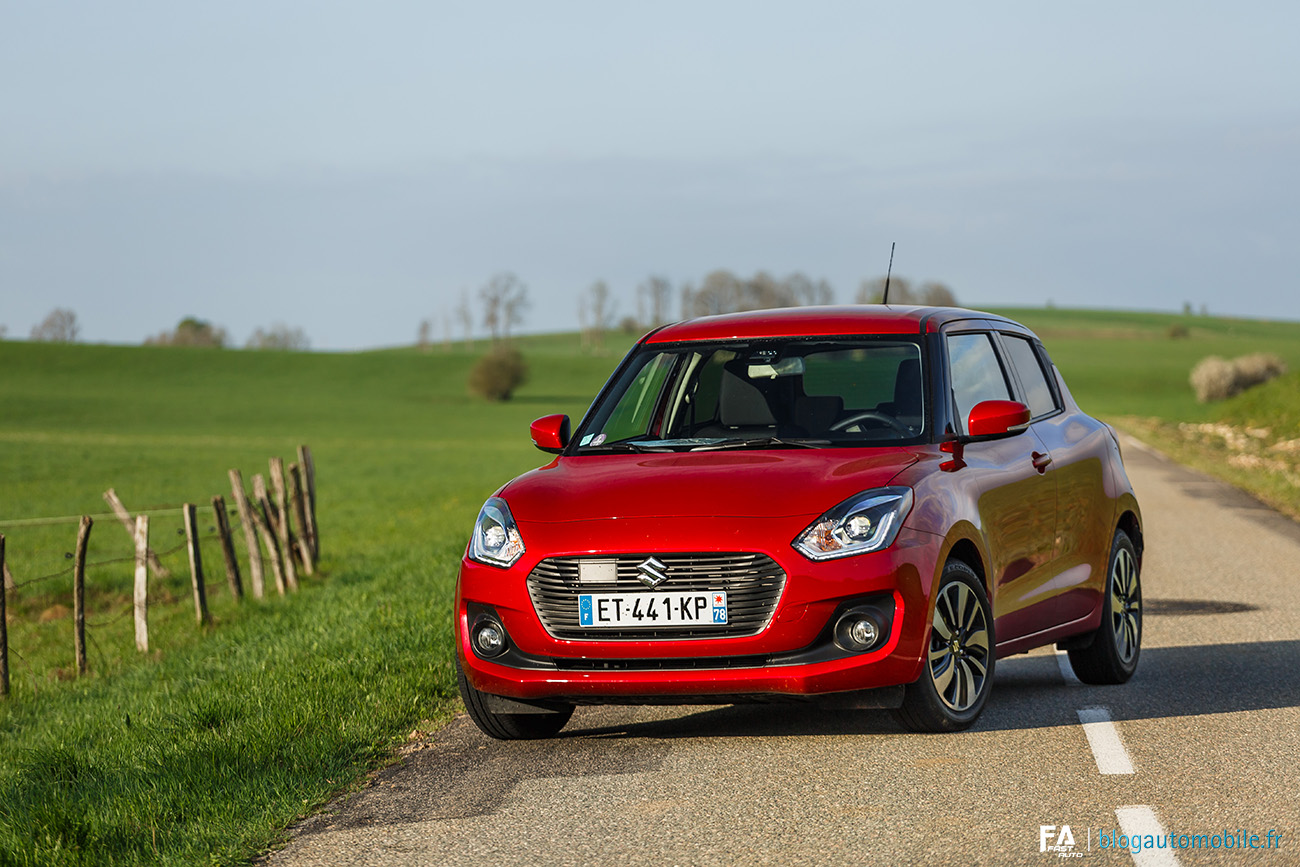 Essai Suzuki Swift Pack Auto
