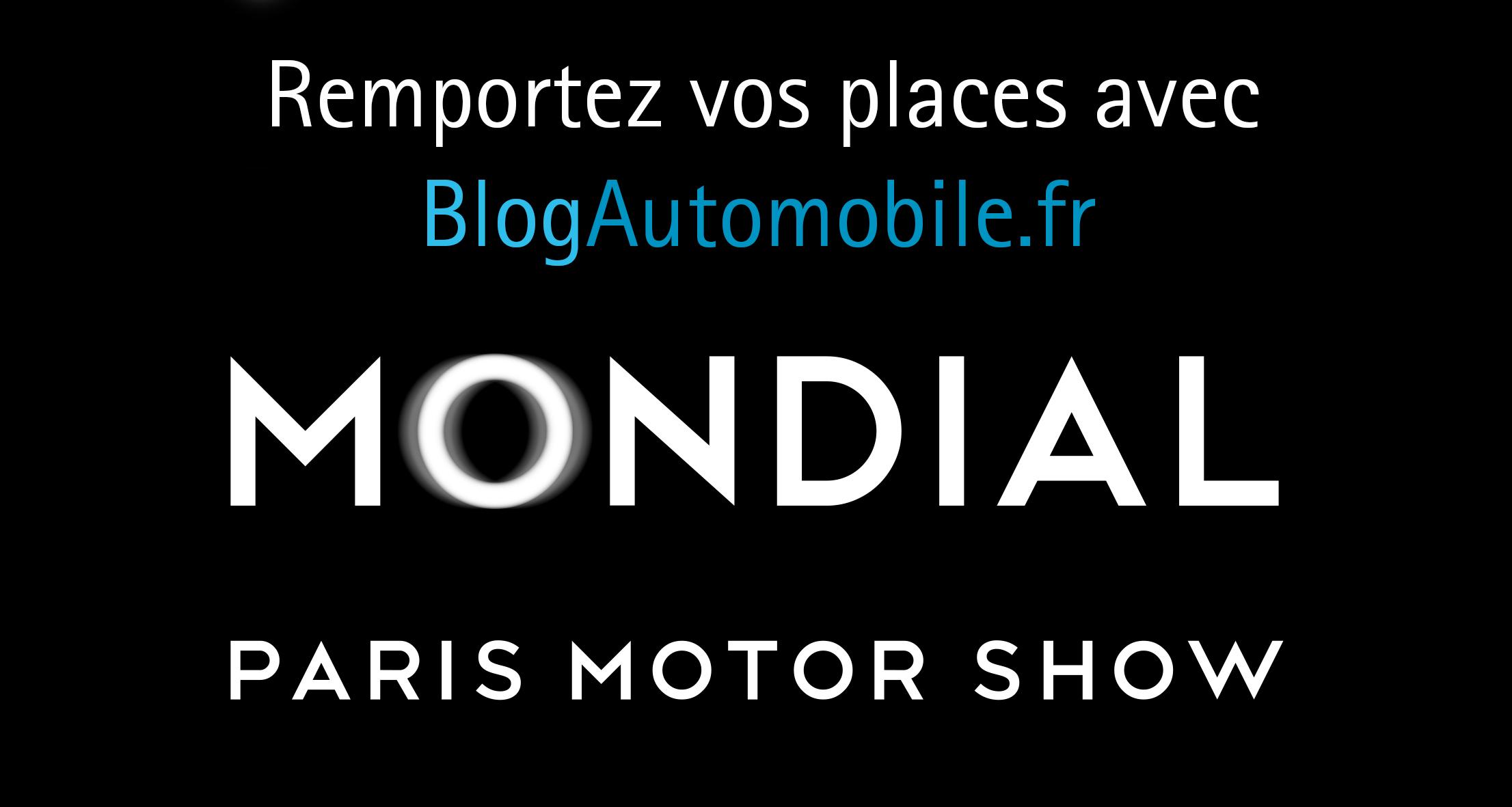 Gagnez vos places pour le Mondial Auto Paris 2018 !