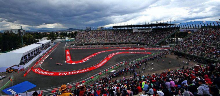 Autodrome Hermanos Rodriguez Mexico F1