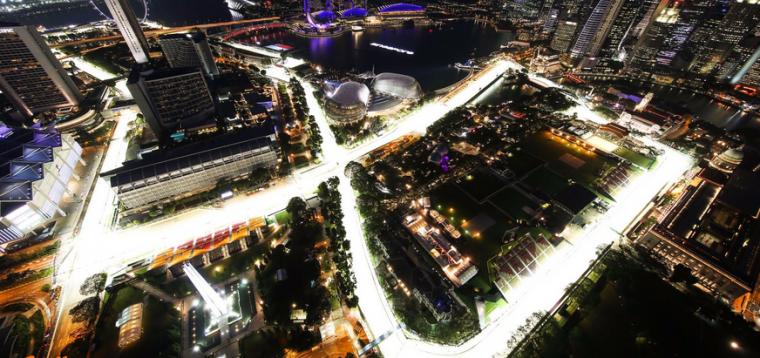 Marina Bay Circuit Singapour F1