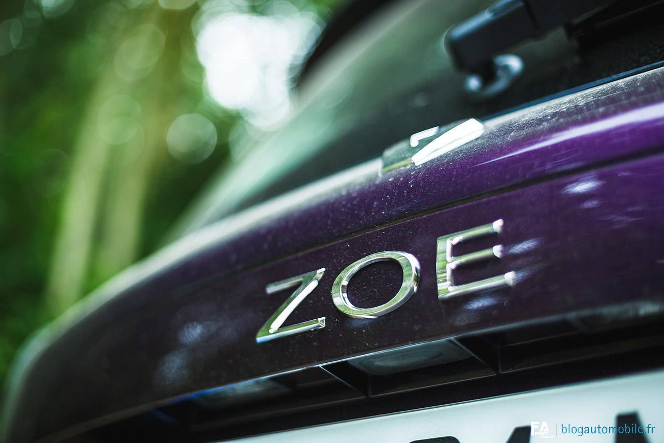 Essai Renault (Zoé Z.E.40 R110)