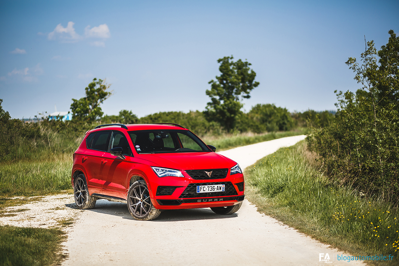 Essai Cupra Ateca (photos)
