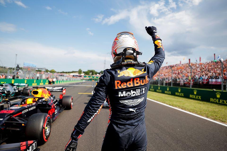 rétrospective F1 2019 - Verstappen célèbre sa première pole position