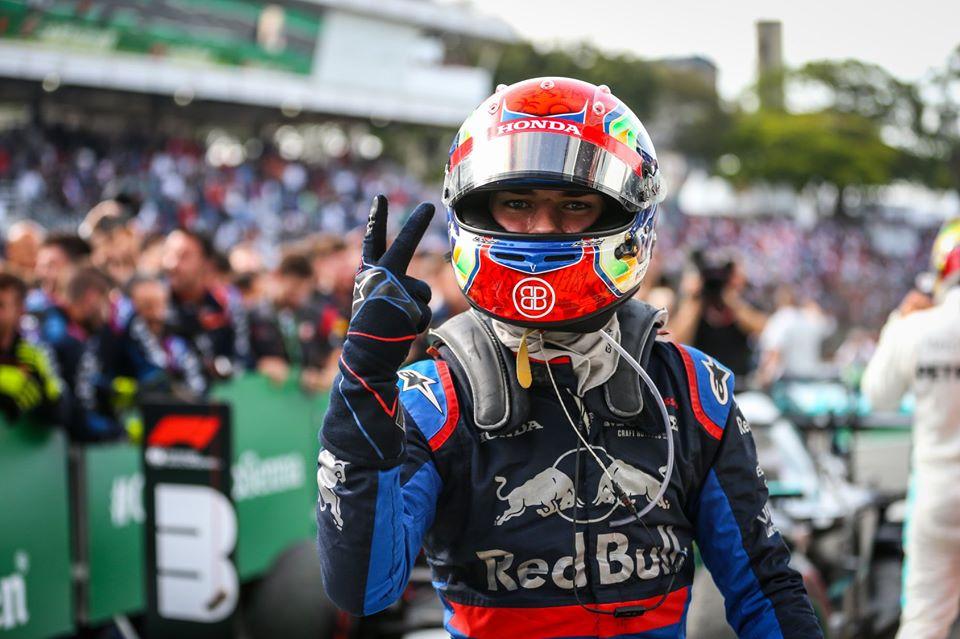 rétrospective F1 2019 - Gasly 2e du GP du Brésil
