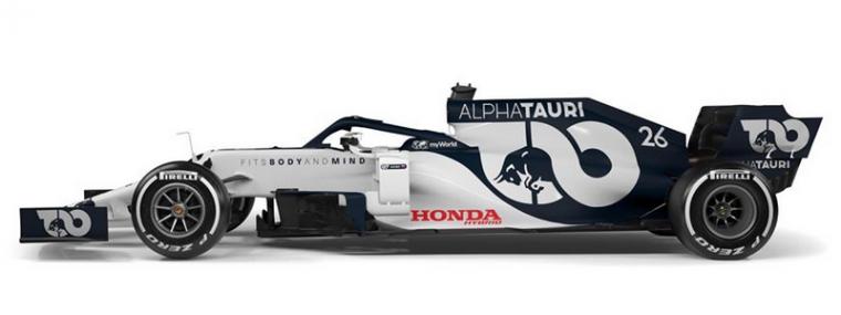 ALPHATAURI AT01 F12020