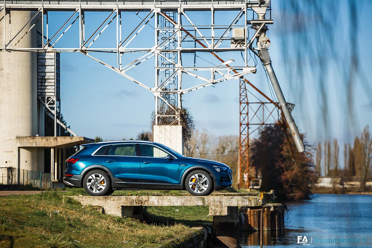 Essai Audi e-tron 55 quattro