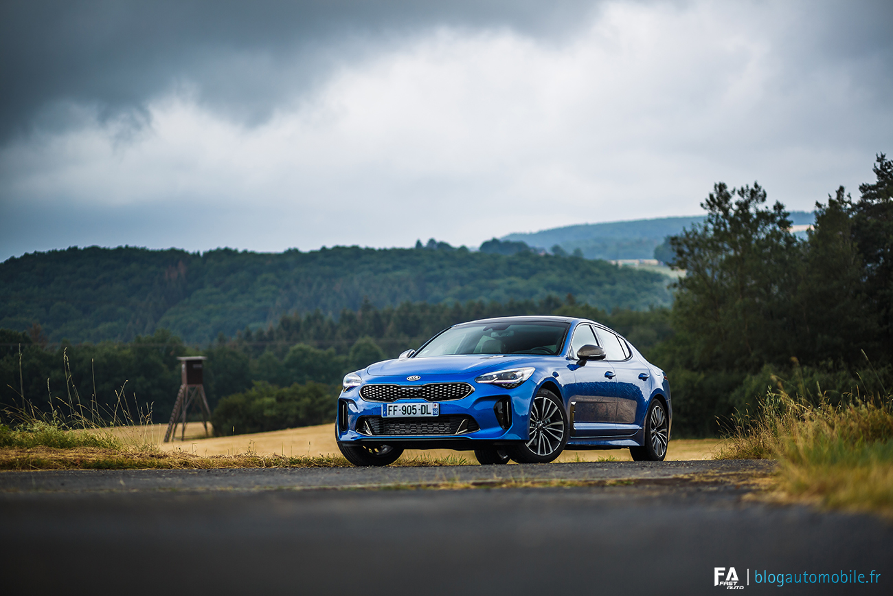 Essai Kia Stinger CRDI - Photos