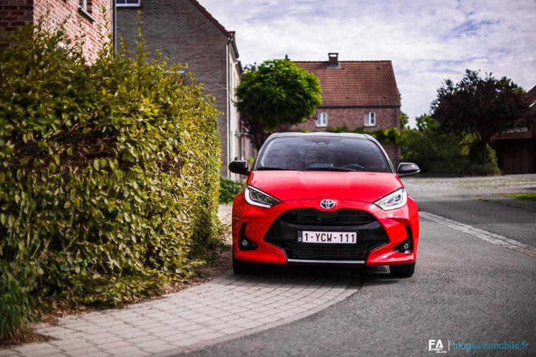 Essai Nouvelle Toyota Yaris Hybride 2020