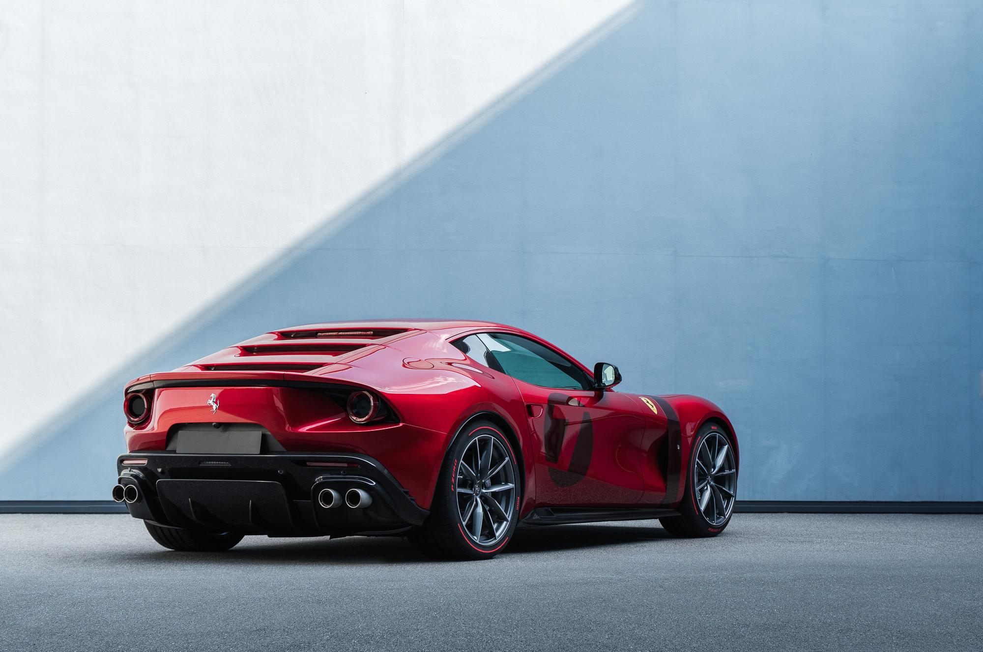 Serait-ce une vraie photo de presse Ferrari ?