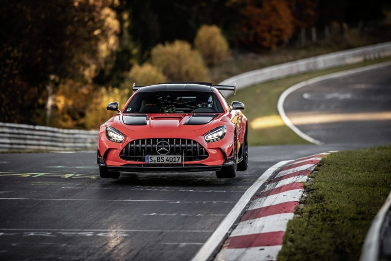 Mercedes AMG GT Black Series - Record Nuburgring