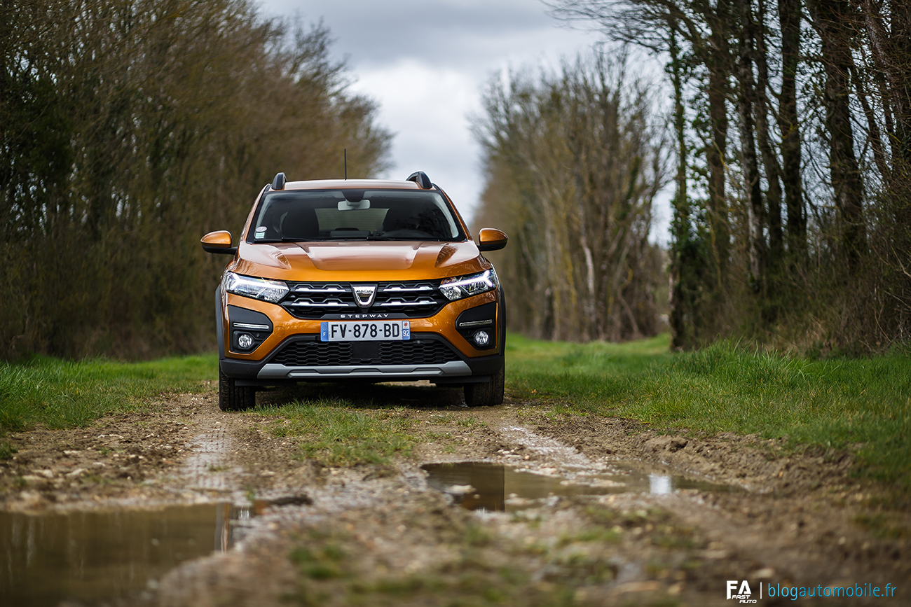 Essai Dacia Sandero Stepway GPL